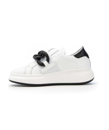 TODS SNEAKERS LACCI NAPPA NERA